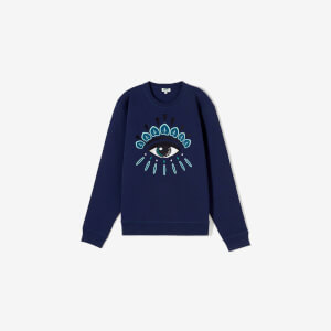 KENZO Men's Eye Logo Sweatshirt - Ink