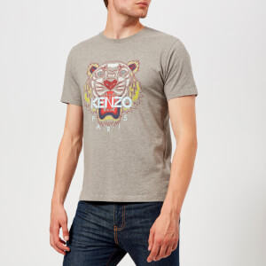 KENZO Men's Classic Tiger T-Shirt - Dove Grey
