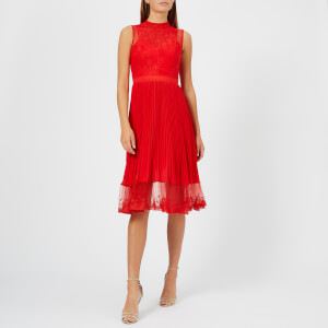 Three Floor Women's Cherry Ripe Dress - Fiery Red