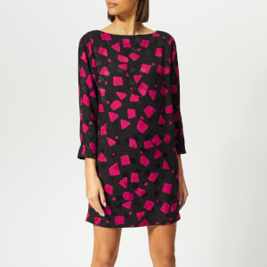 Marc Jacobs Women's Sheath Dress - Fuchsia Multi
