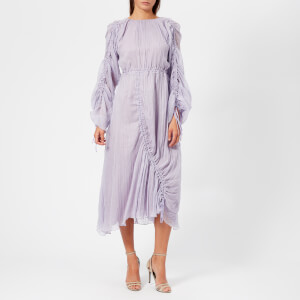 Preen By Thornton Bregazzi Women's Pleated Patricia Dress - Lilac