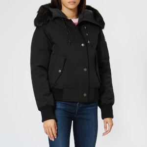 KENZO Women's Technical Short Bomber Coat - Black