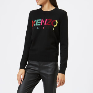 KENZO Women's Kenzo Paris Knit Jumper - Black