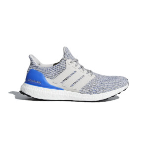 adidas Ultraboost Running Shoes - Blue/White