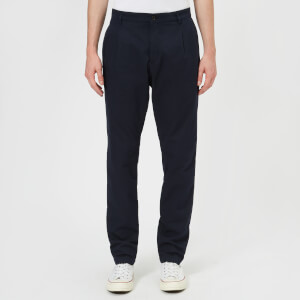 A.P.C. Men's Leon Pantalon Trousers - Dark Navy