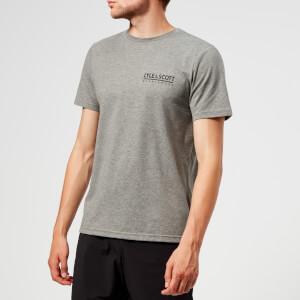 Lyle & Scott Sportswear Men's Pendle Short Sleeve Small Logo T-Shirt - Mid Grey Marl