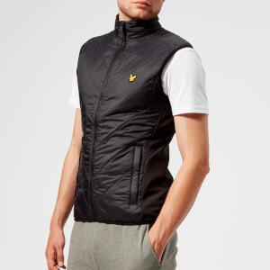 Lyle & Scott Sportswear Men's Brandon Chevron Gilet - True Black