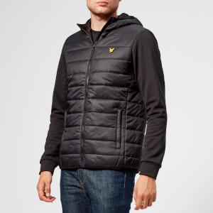 Lyle & Scott Sportswear Men's Grasmoor Quilted Body Jacket - True Black
