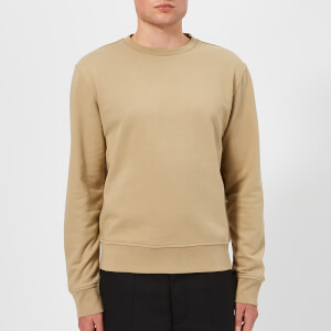 Maison Margiela Men's Elbow Patch Sweatshirt - Beige