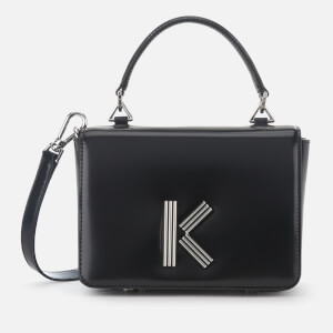 KENZO Women's K Medium Cross Body Bag - Black