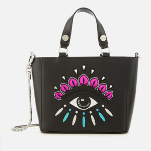 KENZO Women's Eye Embroidery Tote Bag - Black