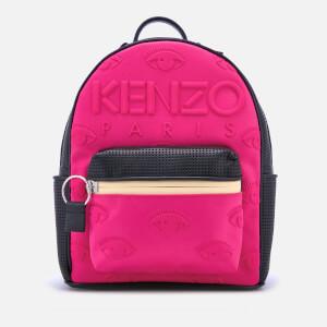 KENZO Women's Neoprene Backpack - Deep Fuchsia