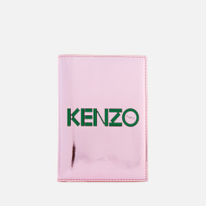 KENZO Women's Logo Passport Holder - Faded Pink