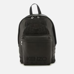 KENZO Women's Small Leather Rucksack - Black