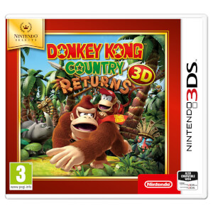 Nintendo Selects Donkey Kong Country Returns 3D