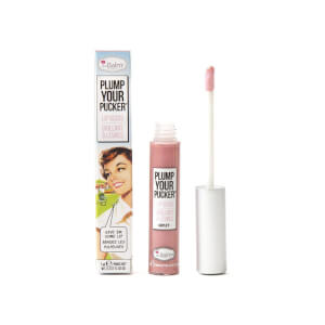 theBalm Plump Your Pucker Lip Gloss (Various Shades)