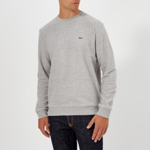 Lacoste Men's Terry Towelling Sweatshirt - Pluvier Chine