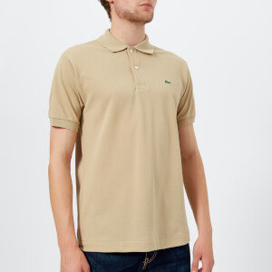 Lacoste Men's Classic Fit Polo Shirt - Viennese/Camel