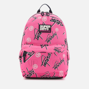 Superdry Women's Super Crew Montana Backpack - Fluro Pink