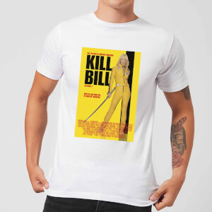 Camiseta Kill Bill Póster - Hombre - Blanco