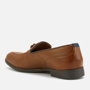 Hudson London Men's Aylsham Leather Tassle Loafers - Tan: Image 2