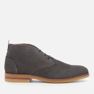 Hudson London Men's Bedlington Suede Desert Boots - Whisper