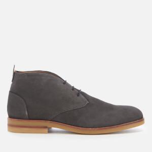 Hudson London Men's Bedlington Suede Desert Boots - Whisper