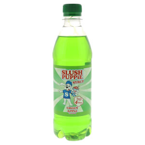 Slush Puppie Syrup - Green Apple