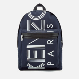 KENZO Men's Sport Logo Backpack - Navy Blue