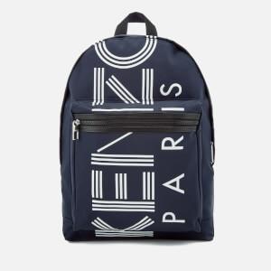 KENZO Sport Logo Backpack - Navy
