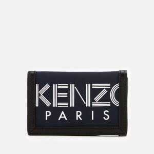 KENZO Men's Sport Logo Wallet - Navy Blue