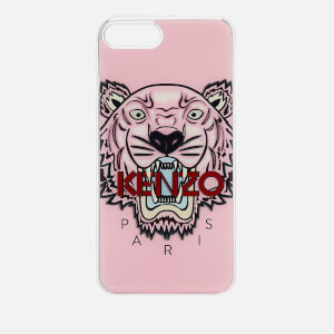 KENZO Men's Tiger Silicone iPhone 7/8 Case - Faded Pink