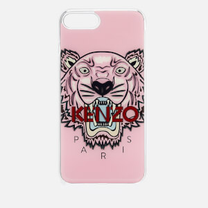 KENZO Men's Tiger Silicone iPhone 7+/8+ Case - Faded Pink