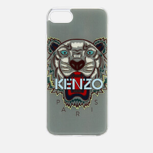 KENZO Men's Tiger Silicone iPhone 7+/8+ Case - Pale Grey