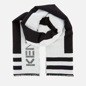 KENZO Men's Sport Logo Scarf - Black