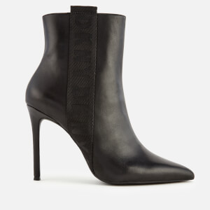 DKNY Women's Ranita Heeled Shoe Boots - Black