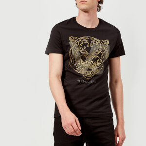 Versace Jeans Men's VJ Tiger T-Shirt - Black