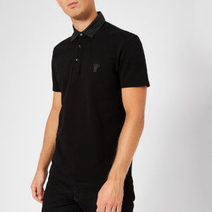 Versace Collection Men's Polo Shirt - Nero