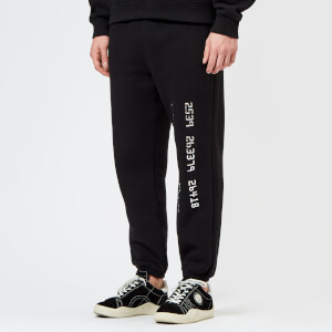 Alexander Wang Men's Credit Card Decal Sweatpants - Black