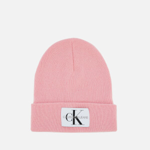 Calvin Klein Women's Basic Women Knitted Beanie - Chintz Rose