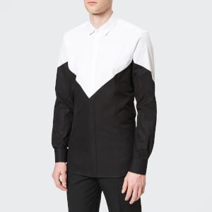 Neil Barrett Men's Tuxedo Modernist Shirt - Black/White
