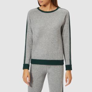 Madeleine Thompson Women's The Kore Knit Jumper - Grey/Dark Green