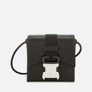 Christopher Kane Women's Mini Crystal Buckle Cross Body Bag - Black