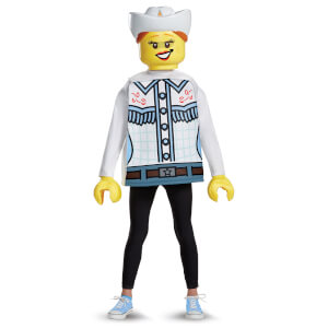LEGO Iconic Kids Cowgirl Classic Fancy Dress - White