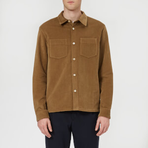 A.P.C. Men's Surchemise Joe - Beige Fonce