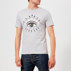 KENZO Men's Eye Logo T-Shirt - Pale Grey