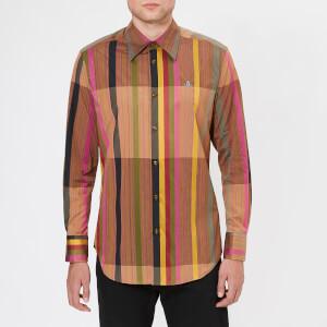 Vivienne Westwood Men's Rug Stripes Classic Shirt - Brown