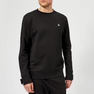 Vivienne Westwood Men's Organic Classic Felpa Round Neck Sweatshirt - Black