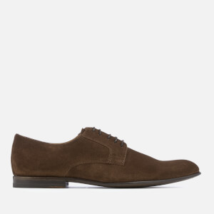 PS by Paul Smith Men's Gould Suede Derby Shoes - Chocolate