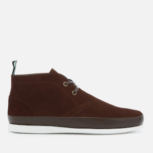 PS by Paul Smith Men's Cleon Suede Chukka Boots - Dark Brown